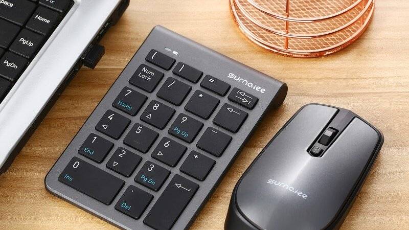USB Numeric Keypad and Mouse